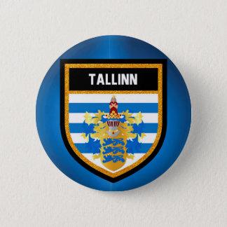 Tallinn Flag 2 Inch Round Button