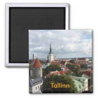 Tallinn fridge magnet