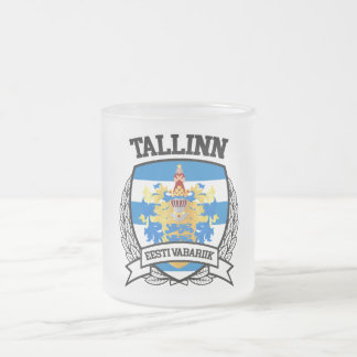 Tallinn Frosted Glass Coffee Mug