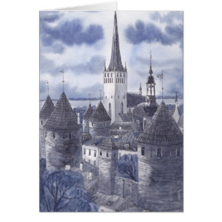 Tallinn Greeting Card