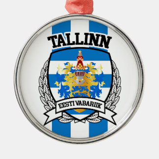 Tallinn Metal Ornament