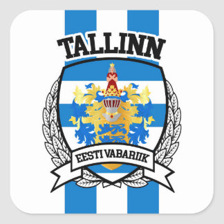 Tallinn Square Sticker