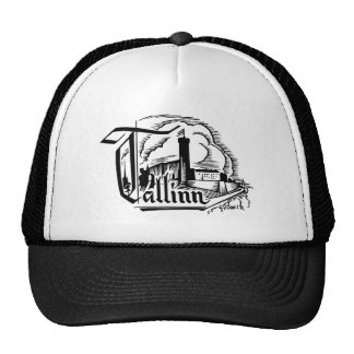 Tallinn Woodcut Logo - Hat