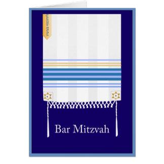 """Tallit"" Bar Mitzvah Card"