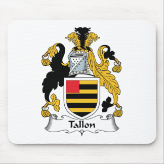 Tallon Family Crest Mouse Pad