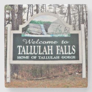 Tallulah Falls, Georgia, Marble  Coaster