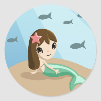 Tallulah the Mermaid Sticker