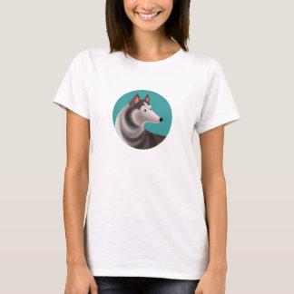 Tallydog Circle of Friends Husky T-Shirt