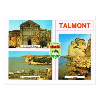 Talmont-sur-Gironde Postcard