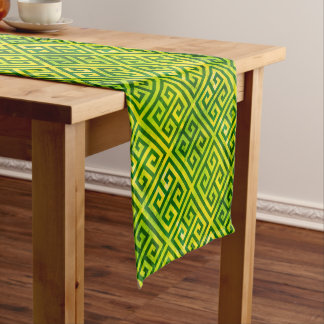 Talosian Gold Greenleaf Short Table Runner