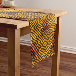 Talosian Gold Recoleta Short Table Runner