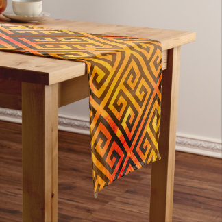 Talosian Gold Sangria Short Table Runner