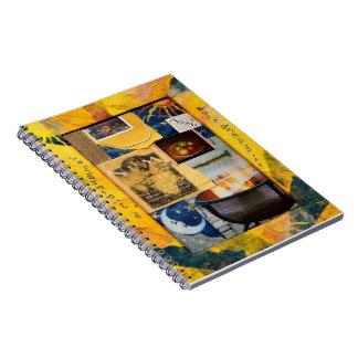 "Tam Kozman's ""A Mid-Summer Day's Dream"" Spiral Notebook"