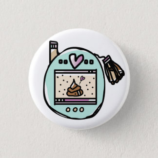 TAMACORGIE. I'M YOUR POOP FAIRY. ROUND BUTTON PIN