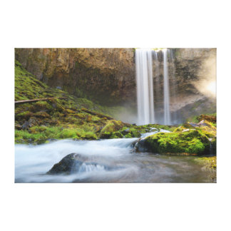 Tamanawas Falls Afternoon Canvas Print
