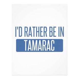 Tamarac Letterhead