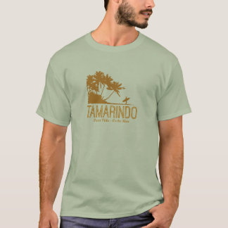 Tamarindo Costa Rica Surfer on the Beach T-Shirt