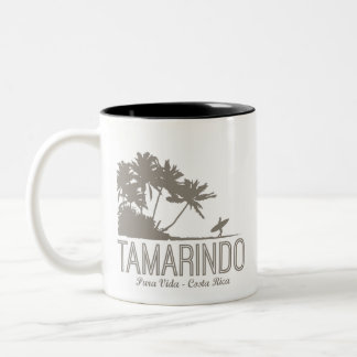 Tamarindo Costa Rica Surfers Beach Two-Tone Coffee Mug