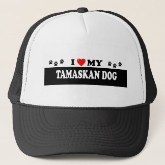 TAMASKAN DOG TRUCKER HAT