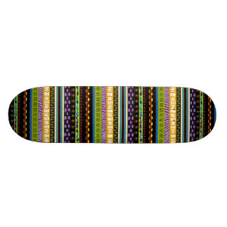 Tambora Tribal Designed Skateboard Deck