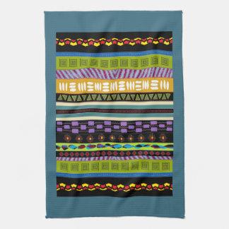 Tambora Tribal Pattern Kitchen Towel