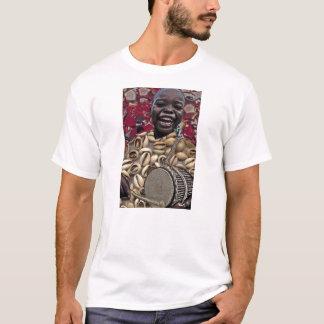 TAMBORINE ELEGGUA BY LIZ LOZ T-Shirt