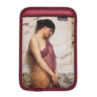 Tambourine Girl by John William Godward iPad Mini Sleeves