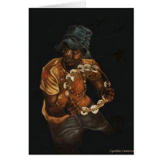 Tambourine Man Card