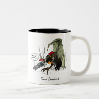 Tamed Reindrach - Special Edition Two-Tone Coffee Mug