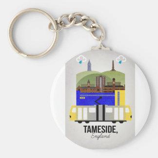 Tameside Keychain