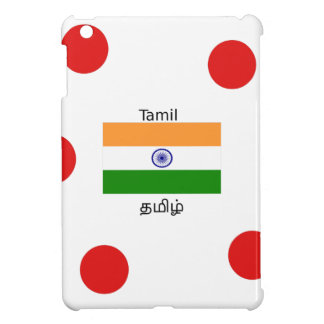 Tamil Language And India Flag Design iPad Mini Case