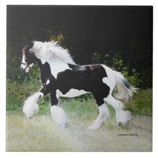 """Tamlin"" Horse Tile"