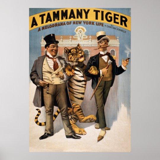Tammy Tiger Vintage Poster