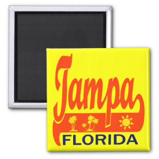 Tampa Bay, Florida Square Magnet