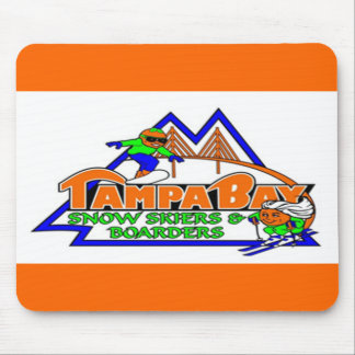 Tampa Bay Snow Skiers and Boarders Mousepad
