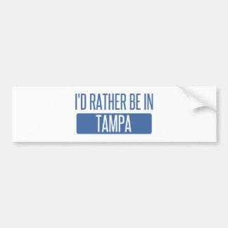 Tampa Bumper Sticker