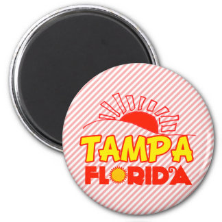 Tampa, Florida 2 Inch Round Magnet