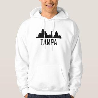 Tampa Florida City Skyline Hoodie