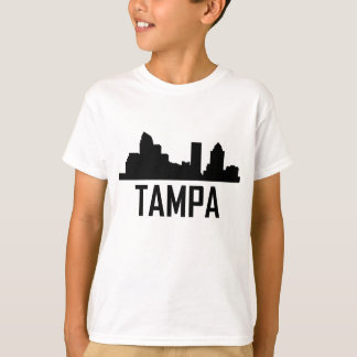 Tampa Florida City Skyline T-Shirt