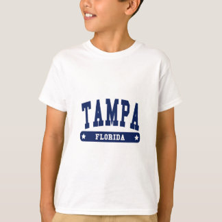 Tampa Florida College Style tee shirts