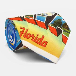Tampa Florida FL Old Vintage Travel Souvenir Tie