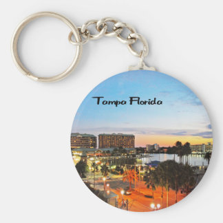 Tampa Florida Keychain