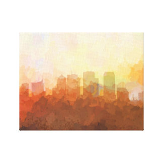 TAMPA, FLORIDA SKYLINE-In the Clouds Canvas