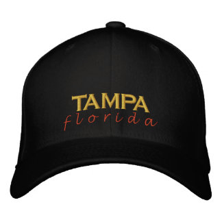 TAMPA florida sunset Embroidered Hat