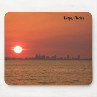 Tampa, Florida Sunset Mousepad