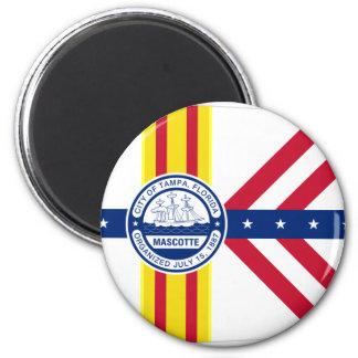 Tampa, Florida, United States 2 Inch Round Magnet