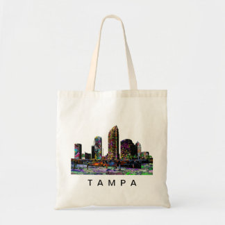 Tampa in graffiti tote bag