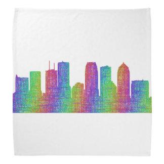 Tampa skyline bandana
