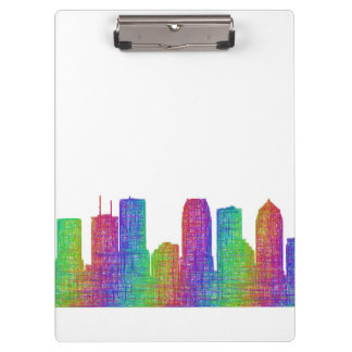 Tampa skyline clipboards