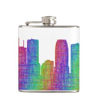 Tampa skyline flasks